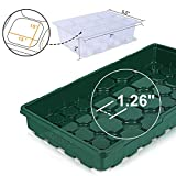 MIXC 5-Pack 1020 Flat Trays with Humidity Dome