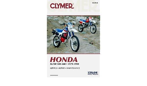 m339 8 1979 1990 xl500r xr500 xl600 xr600 clymer honda motorcycle rh amazon com 1984 Honda XR500R 1983 Honda XR500R