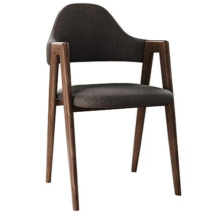 Stupendous Amazon Com Ch Air Armchairs Chair Solid Wood Fabric Dining Machost Co Dining Chair Design Ideas Machostcouk