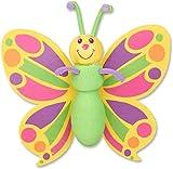 Tenna Tops Pretty Butterfly Car Antenna Topper Mirror Dangler Desktop Spring Stand Bobble (Auto Accessory)