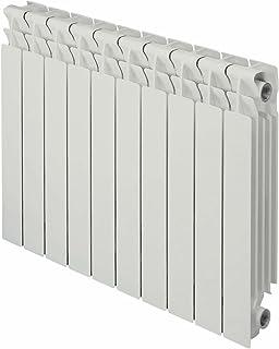 exclusivo B3/800//100/distancia entre ejes 800/mm 40x80mm Bianco 4 elementi Radiador de calentamiento de agua o Vapor Elementos de Aluminio fundido Marca: fondital Mod
