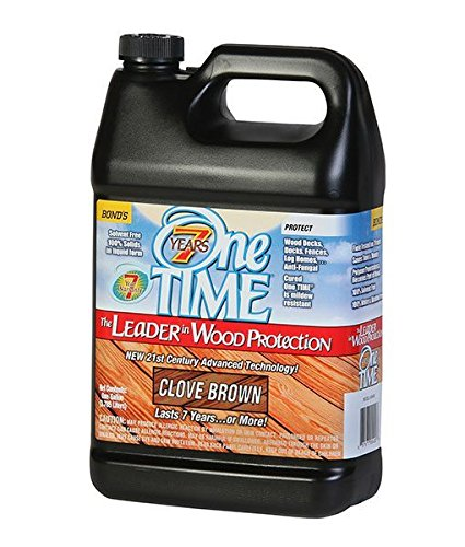 Brown Deck Stain 1 Gallon Size One Time