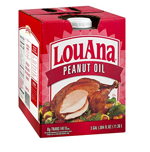 LouAna (3.0 GAL) (Best Peanut Oil For Turkey Frying)