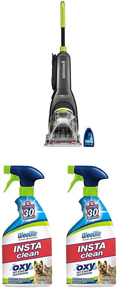 Bissell TurboClean + Instaclean Stain Remover