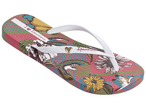 Ipanema - Sandalias de Caucho para mujer multicolor multicolor rosa-weiß (23705)