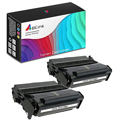(ABCink Compatible Toner Cartridge Replacements for Lexmark 12A7315 12A7415,for use in Lexmark 4059,1200,1250,1650,2450,10000 Yields(2 Pack,Black))