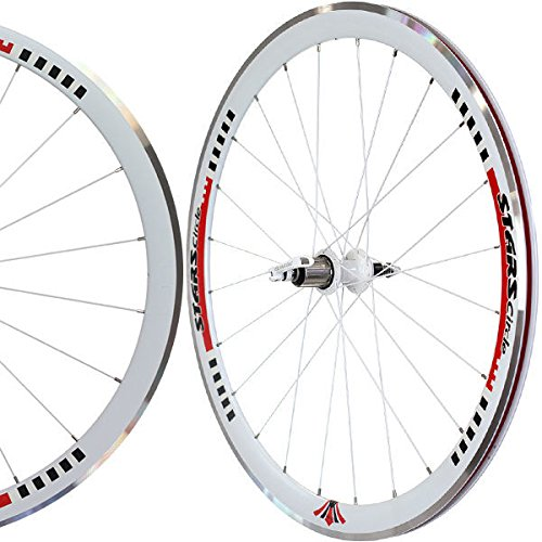 700C Stars Deep V Road Bike Wheels Wheelset Shimano 8/9/10