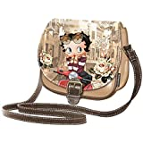 BETTY BOOP - Sac à main vintage Betty Boop SCOOTER ROUGE