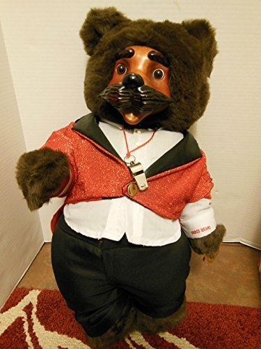 "Robert Raikes Bears Ringmaster Original Circus Collection 17th Edition 24"" Wood Sculptured Bear Applause 1993 Mint condition 1965 of 5000"