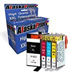 4x Ink Cartridges hp 920xl hp 920 xl hp 920 Compatible for HP Officejet 6000 6500 7000 7500 7500A 6500A Plus officejet E709 officejet E910 with a chip and level indicator