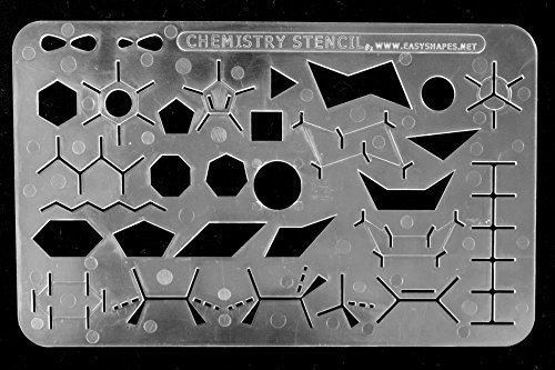 Easyshapes: Organic Chemistry Stencil Drawing & Drafting Template.