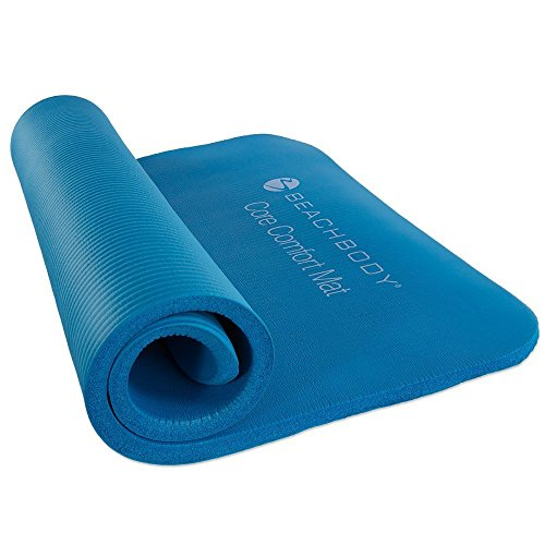 Comfortable mat for those awkward exercise positions