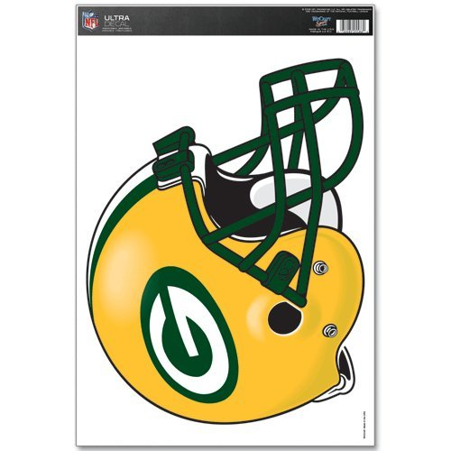 Packers Window Cling (NFL Green Bay Packers Multi Use Decal, 11 x 17