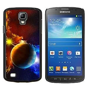 Caucho caso de Shell duro de la cubierta de accesorios de protección BY RAYDREAMMM - Samsung Galaxy S4 Active i9295 - Espacio Planet Galaxy Estrellas 45