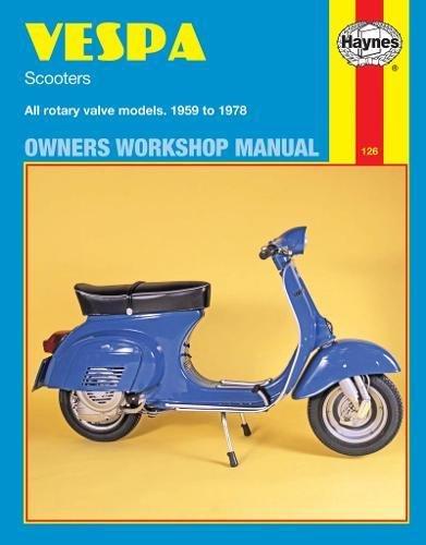 Vespa Scooters, 1958-78 (Haynes Repair Manuals) by Brand: Haynes Manuals N. America, Inc.