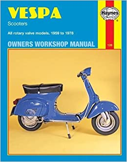 Vespa Scooters 1959 - 1978 (Motorcycle Manuals): Amazon.co ... on