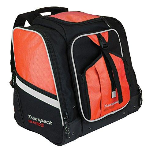 Transpack Heated Boot Pro XL Ski Boot Bag 2019 - Orange-Silver Electric (Best Ballistic Helmet 2019)