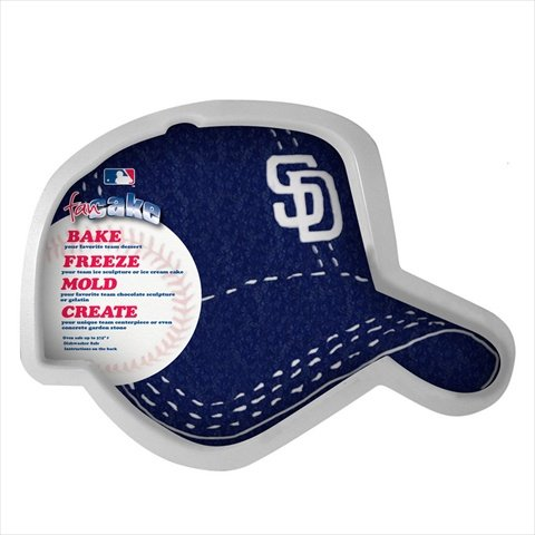 MLB San Diego Padres Fan Cakes Heat Resistant CPET Plastic Cake -