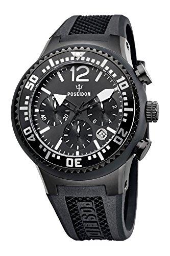 Kienzle Poseidon Men's L Chrono Watch - Black
