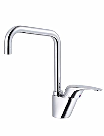 Amazon.com: Kitchen Hot And Cold Water Faucet High Throw Can Rotate ...