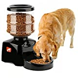 OSPet Smart Feeder,Automatic Feeder,5.5 Liter Electric Pet Feeder,Dry Food Container for Dog Cat Pet