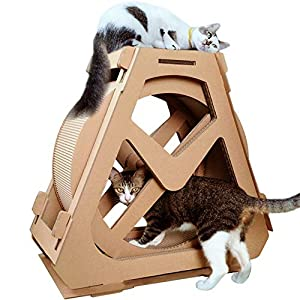 Creation Core Multi-Level Cat Wheel Toy