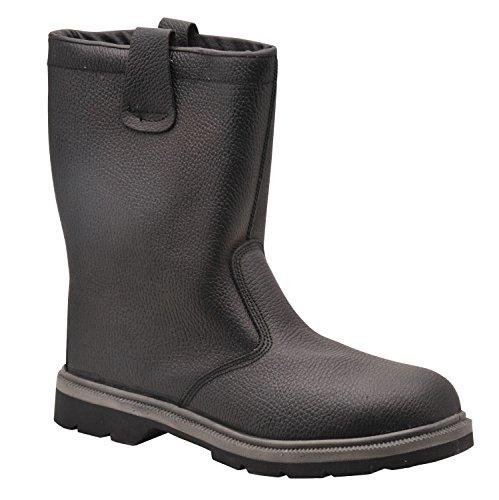 Steelite Rigger de seguridad botas de trabajo zapatos puntera y entresuela de acero UK 5–12FW12 canela