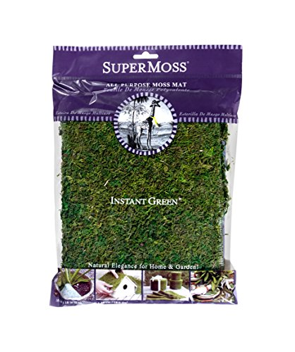 - SuperMoss (22420) InstantGreen Moss Mat, Fresh Green, 18 x 16