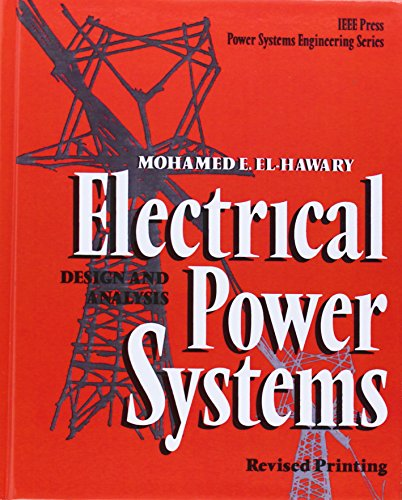 Pdf analysis and power electrical systems design