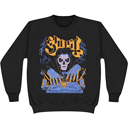 Ghost B.C.. Men's Witchboard Crewneck Sweatshirt XX-Large Black (Band Crewneck Sweatshirt)