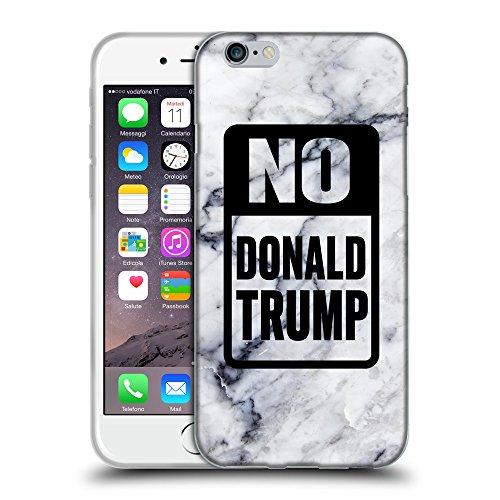 """Super Galaxy Coque de Protection TPU Silicone Case pour // Q04150522 Arrêtez le marbre Trump // Apple iPhone 6 PLUS 5.5"""""""