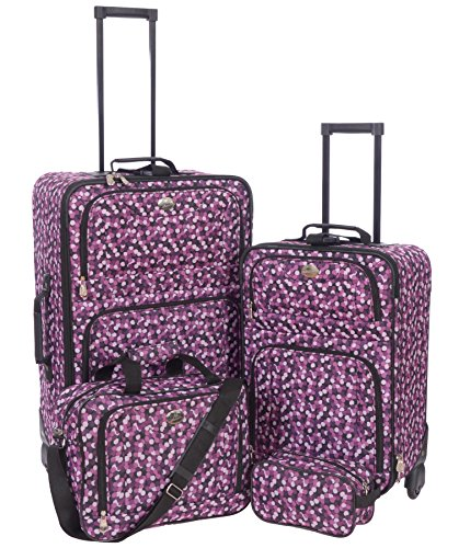 jetstream-lightweight-4-piece-fashion-luggage-set-with-travel-kit-multicolored