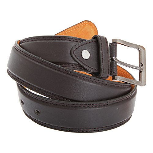 """Forest Belts Mens 1.25 Inch Bonded Leather Classic Belt (X-Large (40""""-44"""")) (Athletic Classic Belt)"""