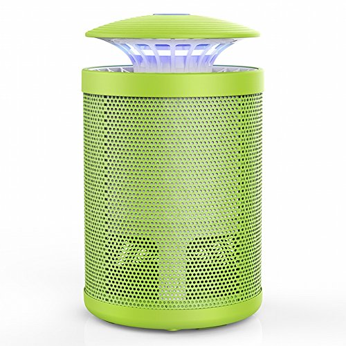 DIDIDD Anti-Mosquito Lamp Indoor Indoor Mosquito Repellent Artifact Mosquito-Proof Bedroom Restaurant Mosquito Trap Electric Mosquito Plug-In Type,Light green,151525cm