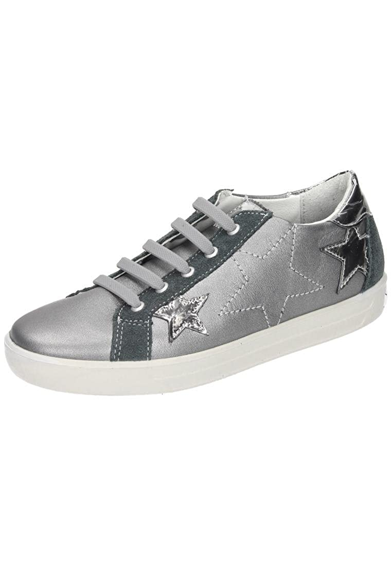 RICOSTA Damen Preska Sneaker, Grau (Graphit)