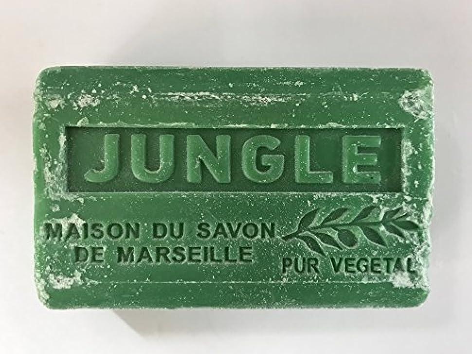 罰するシャット遮るSavon de Marseille Soap Jungle Shea Butter 125g