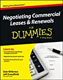 Best Books On Commercial Real Estates - Negotiating Commercial Leases & Renewals For Dummies Review