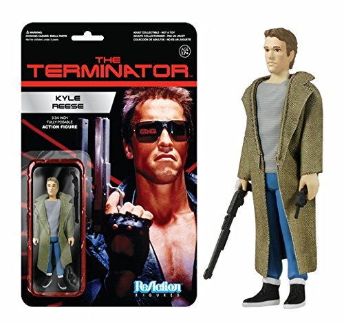 Kyle Reese (The Terminator) ReAction 3 3/4-Inch Retro Action Figure (2PACK)