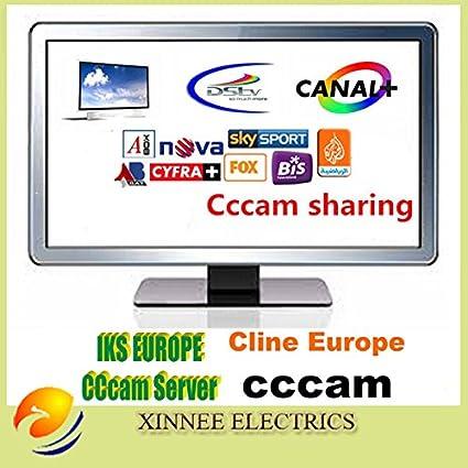 MU CCAM clina IKS cuenta CCcam 1 año de validez, Cielo Alemania, Reino Unido Sky, Canal + HD, NOVA, DIGITAL + HD, freesat: Amazon.es: Electrónica