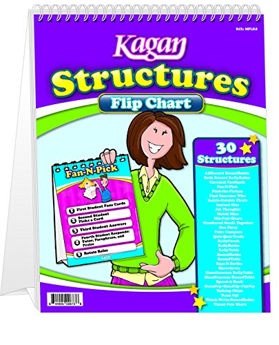 - Kagan Cooperative Learning Flip Chart: Structures (MFLKS)