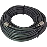 BELDEN Rg8x 97% Shielded Coax Cable w/ PL-259s for Cb / Ham / Scanner Radio 100 Foot USA MADE!! For Sale