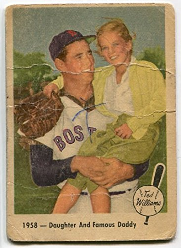 Fleer 1959 Ted Williams 1958 - Daughter and Famous Daddy Card #64 Boston Red Sox