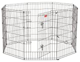 6 panel dog pen - Lucky Dog Modular Pet Play Pen