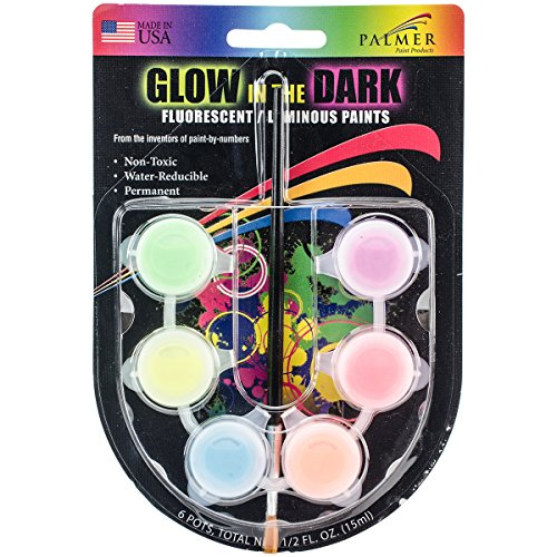 Poster-Paint-Mini-Pots-Fluorescent-Glow-In-The-Dark