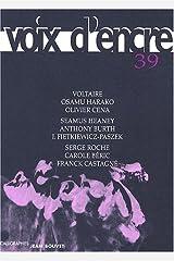 Voix d'encre, N°39 : Paperback