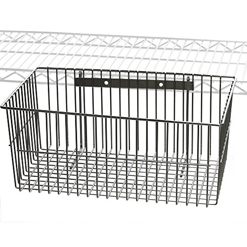 (Wire Utility Basket for Wire Shelving)