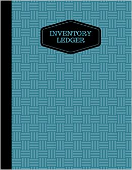 amazon com inventory ledger log book tracking sheets inventory