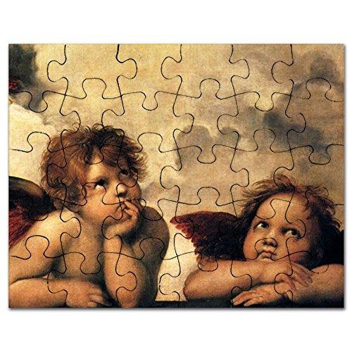 CafePress - Angels By Raphael, Vintage Renaissance Art - Jigsaw Puzzle, 30 (Renaissance Cherub)