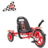 Mobo Cruiser Tot Disney Pixar Cars Lightning McQueen Special Tricycle, Red