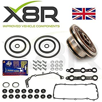 DOUBLE TWIN DUAL VANOS SEALS UPGRADE REPAIR SET KIT M52TU M52 M54 M56 WITH  GASKETS